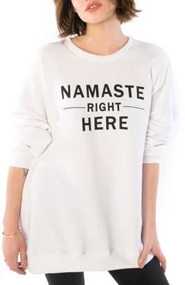 Namaste SLINK Jeans Oversize Sweatshirt