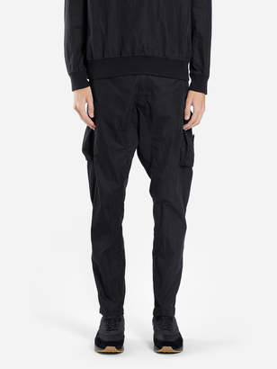 Stone Island MEN'S BLACK CARGO PANTS