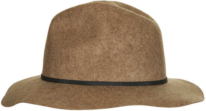 Topshop Clean Edge Fedora Hat
