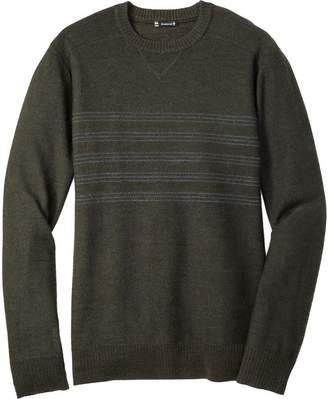 Smartwool Kiva Ridge Reverse Jersey Stripe Crew Sweater - Men's