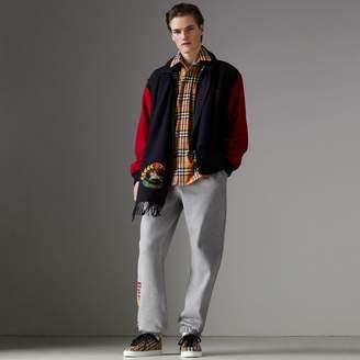Burberry Reissued Contrast-sleeve Wool Jacket