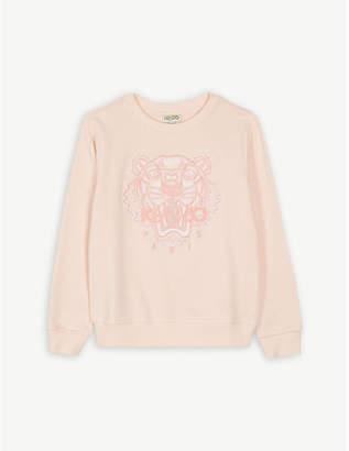 Kenzo Tiger icon cotton sweatshirt 4-14 years