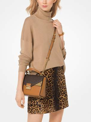 MICHAEL Michael Kors Knit Turtleneck Pullover