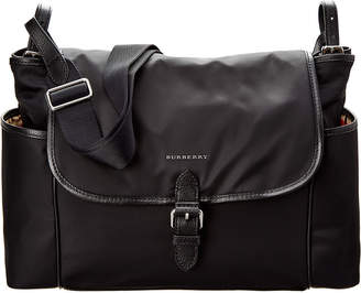 Burberry Nylon & Leather Diaper Bag