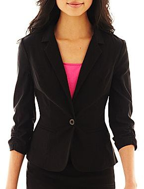 JCPenney by&by Cropped Blazer