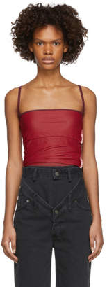 Y/Project Red Layered Tank Top