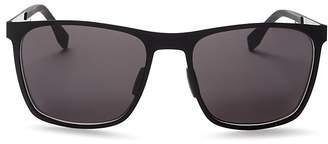 BOSS HUGO Rectangle Sunglasses, 57mm