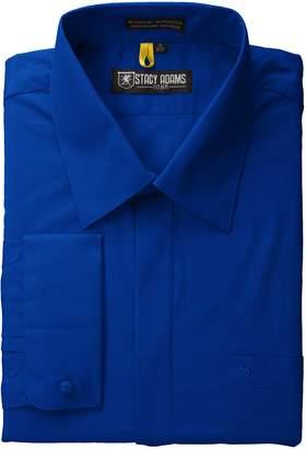 Stacy Adams Men's Long Sleeve Regular Fit Shirt
