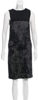 Veronique Branquinho Sleeveless Velvet Dress