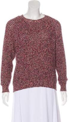 Etoile Isabel Marant Long Sleeve Rib Knit Sweater