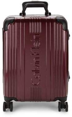 8f7bf9c2fa Calvin Klein 606 Hard Shell Carry-On Spinner Suitcase