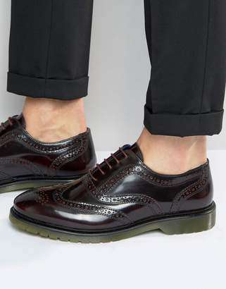 Red Tape Brogues In Oxblood