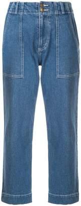 Apiece Apart cropped jeans