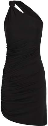 Alix Celeste One-Shoulder Mini Dress