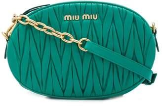 Miu Miu (ミュウミュウ) - Miu Miu マテラッセ ショルダーバッグ