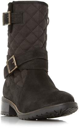 Barbour Barnes Quilted Buckle Mid Boots