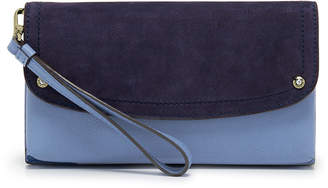 Henri Bendel Lenox Flap Color Blocked Wallet