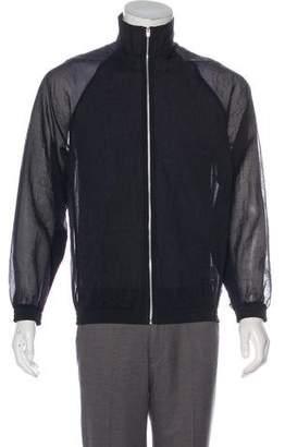 Cottweiler Sheer Organza Track Jacket