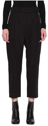 Alexandre Vauthier Wool Blend Cropped Pants