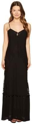 McQ Long Lace Slip Dress Women's Dress