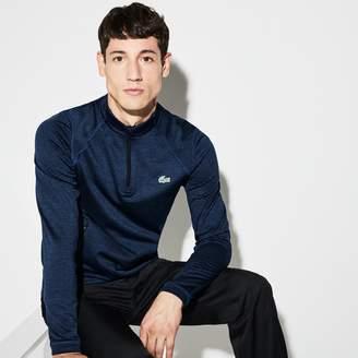 Lacoste Men's SPORT Zip Neck Technical Midlayer Golf Sweatshirt