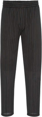 Givenchy Striped Cotton-Blend Trousers