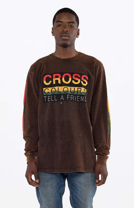 Cross Colours Tell A Friend Long Sleeve T-Shirt