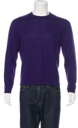 Neiman Marcus Cashmere Crew Neck Sweater