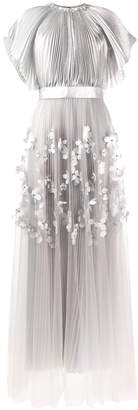 Viktor & Rolf Viktor&Rolf Soir pleated A-line gown
