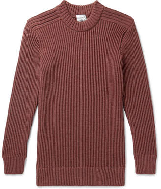 S.N.S. Herning Fang Ribbed Merino Wool Sweater