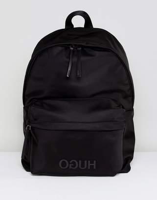 HUGO Record back pack nylon in black