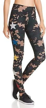 Noli Yoga Combat Camo Star Leggings