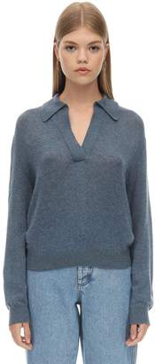 KHAITE JO CASHMERE KNIT SWEATER