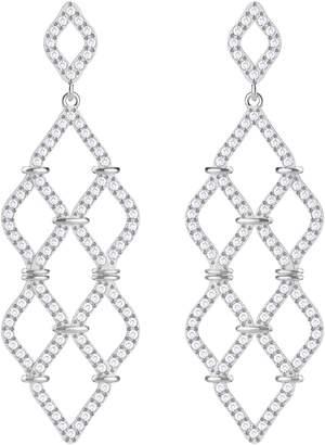 Swarovski Lace Crystal Chandelier Earrings