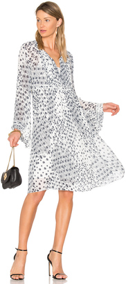 See By Chloe Long Sleeve Floral Mini Dress $450 thestylecure.com