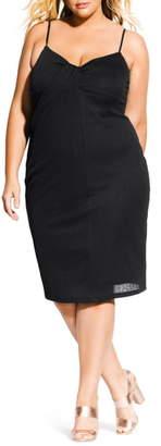 City Chic Classic Twist Dress