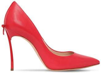Casadei 100MM BLADE LEATHER PUMPS