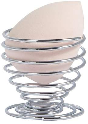 Beauty Secrets Blending Sponge Holder- Silver