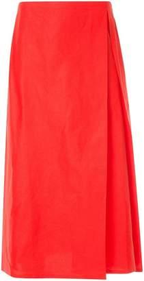 Sofie D'hoore pleat front A-line skirt