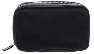 Christian Dior Leather-Trimmed Wallet
