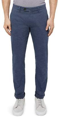 Ted Baker Rivmay Slim Fit Textured Trousers $189 thestylecure.com