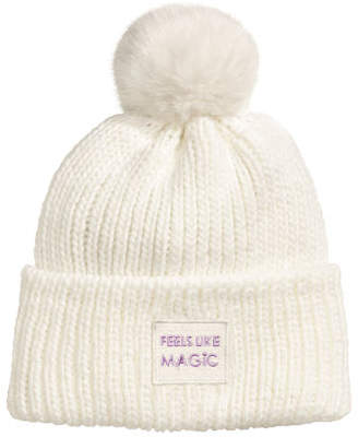 H&M Ribbed hat - White