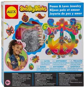 Alex Shrinky Dinks Peace & Love Jewelry