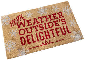 Hallmark Home & Gifts The Weather Outside's Delightful Doormat