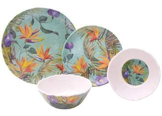 222 Fifth Calabria 12 Piece Melamine Dinnerware Set, Service for 4