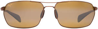 Maui Jim 324 Maliko Gulch Bronze Rectangle Sunglasses