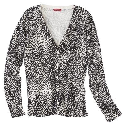 Merona Women's Ultimate Cardigan Sweater - White/Black