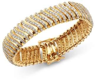Bloomingdale's Diamond Statement Bracelet in 14K Yellow Gold, 10.0 ct. t.w. - 100% Exclusive