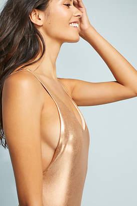 Dolce Vita Metallic One-Piece Swimsuit