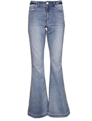 Michael Kors Studded Flared Jeans